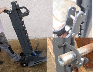 AXO6000 - Hydraulic Jacks