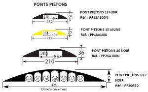 PEDESTRIAN BRIDGE- 3 modèles au choix