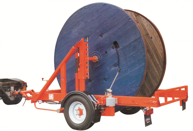 Cable drums trailers S2500
