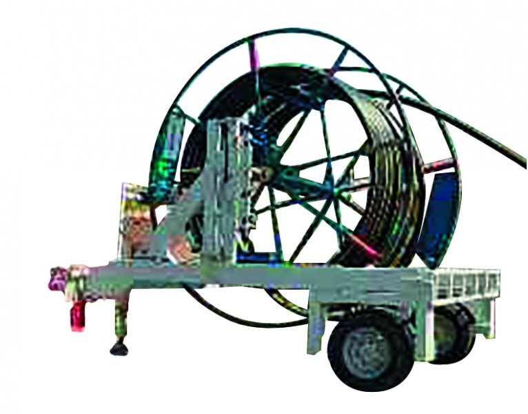 Cable drums trailers S41-22