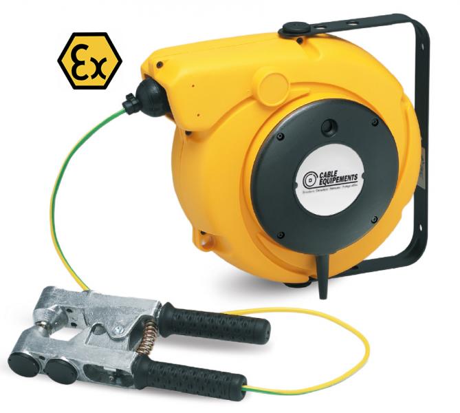Non ATEX cable reel + ATEX plier