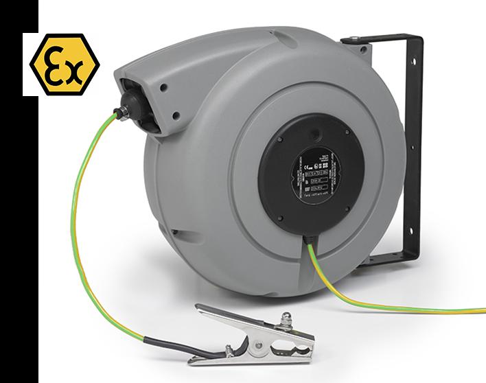 ATEX cable reel + ATEX plier
