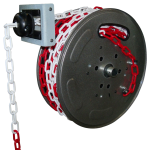 Plastic chain rewinder