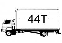 44 tonnes
